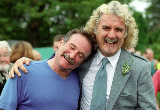 billy connolly i think robin williams tried to say