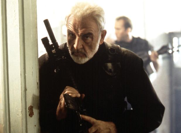 Sean Connery as John Patrick Mason in The Rock
