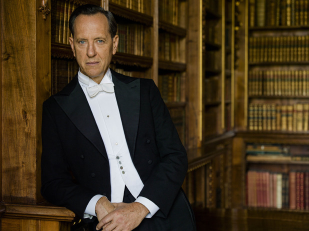 Richard E. Grant as Simon Bricker in Downton Abbey S05E02