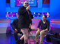 Neil Ruddock gives Jamie Redknapp lap dance