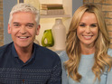 Amanda Holden reveals nerves and talks nipple covers as she covers for Holly Willoughby.