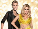 The popstar says that she doesn't want to let down the Strictly Come Dancing judge.