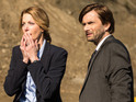 Anna Gunn as Ellie miller & David Tennant as Emmett Carver in Gracepoint S01E01