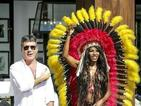 Sinitta wears another outrageous outfit for Judges' Houses with Cowell