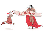 Noelle Stevenson's Nimona ends, coming to print in 2015