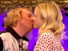First look: Keith Lemon kisses Fearne Cotton on Celebrity Juice