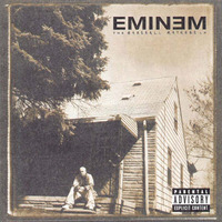 Eminem The Marshall Mathers LP artwork.