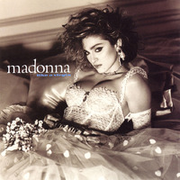 Madonna Like A Virgin album artwork.