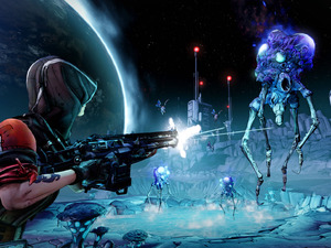 Borderlands: The Pre-Sequel is set between the events of the two Borderlands games