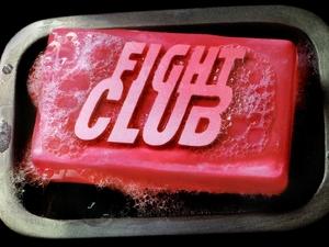 Fight Club soap logo (1999)