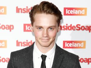 Sam Strike arrives at the Inside Soap Awards 2014 at DSKRKT, London