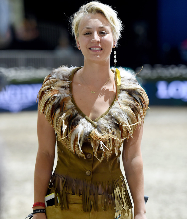Kaley Cuoco Shows Off Equestrian Skills Dressed As