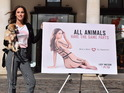 See the MIC star unveils naked poster for PETA's vegetarian campaign.