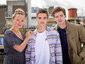 Former EastEnders stars Charlie Brooks and Thomas Law make up the cast.