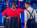 The Strictly contestant reveals that taking on a character helps her to perform.