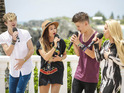 The group travel to Bermuda to perform for Louis Walsh and guest judge Tulisa.