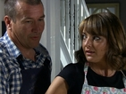 Is Sheryl looking for an excuse to spend time with Hywel?