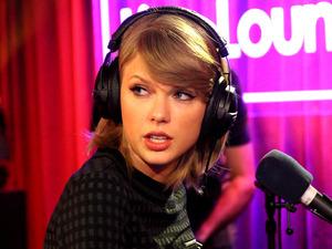 Taylor Swift in BBC Radio 1's Live Lounge
