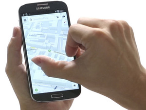 Nokia's Here mapping app on Android