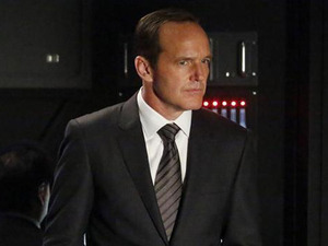 Ming-Na Wen as Melinda May and Clark Gregg as Phil Coulson in Marvel's Agents of SHIELD S02E03: 'Making Friends and Influencing People'