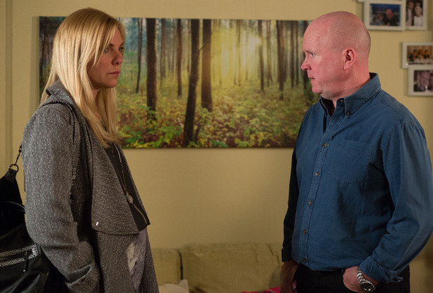 Phil tells Ronnie to end things with Charlie because he's a policeman and she killed a man.