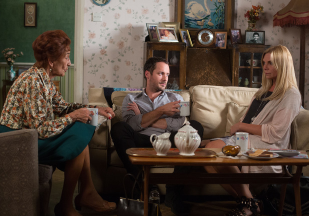 Ronnie tells Charlie and Dot that Phil can't dictate her life, just because Charlie works for the police