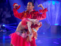 Mills does 'lobster on acid' for Strictly