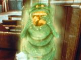 The slimer in Ghostbusters II