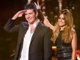 The X Factor, Live Show 1, Simon Cowell and Cheryl Fernandez-Versini: