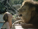 A teenage Melanie Griffith and a close encounter with pet lion Neil.