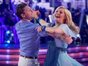 Simon Webbe and Kristina Rihanoff are saved by the show's judges.