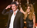 Simon Cowell dismisses suggestions that he's the most competitive judge.