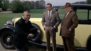Watch Oddjob show off his bowler hat skills in Goldfinger.