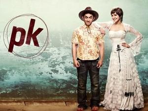 Aamir Khan, Anushka Sharma in PK motion poster