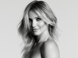 Cameron Diaz in the November issue of Marie Claire