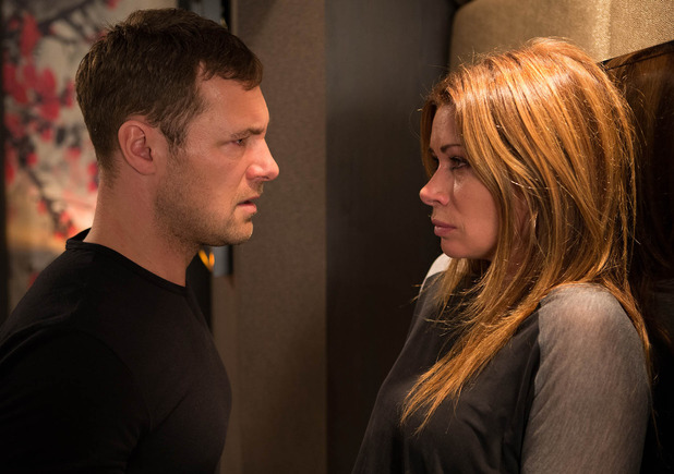 Carla is taken back by Rob's outburst