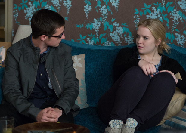 Ben sees that Abi is struggling