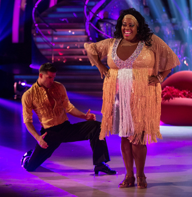 Alison Hammond and Aljaz Skorjanec