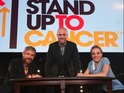 Derren Brown puts on a dazzling display on Stand Up to Cancer telethon.