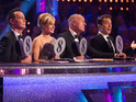 This leaves Frankie, Caroline and Simon in the running for the Glitterball.