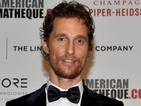 Matthew McConaughey honoured with 28th American Cinematheque Award