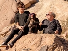 See One Direction hang out with a chimp in new 'Steal My Girl' photos
