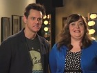 Saturday Night Live: See Jim Carrey and Aidy Bryant become #Jaidy