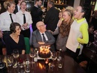 Gogglebox's Leon celebrates 80th birthday with Hollyoaks stars