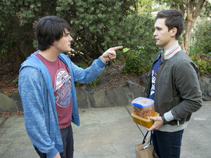 Chris accuses Josh of ruining is life.