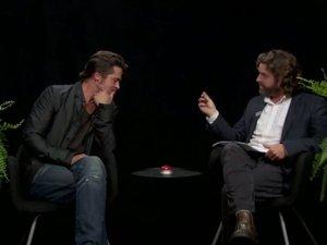 Brad Pitt on Between Two Ferns