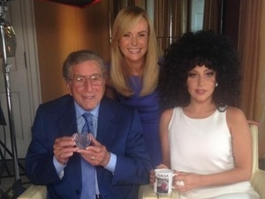 Amanda Holden, Lady Gaga, Tony Bennett, twitter