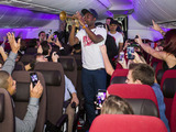 Gorgon City & Rudimental perform a set on board the inaugural flight of the bran new Virgin Atlantic 787