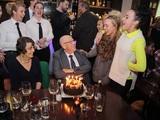 Jorgie Porter and Stephanie Davis celebrate Leon's birthday