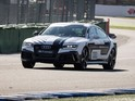 Automaker's RS7 car hits top speeds of 149mph on the Hockenheim racing circuit.